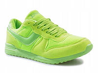 Женские классические салатового цвета кроссовки , фото 1