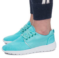 Бирюзовые женские кроссовки для тренировок