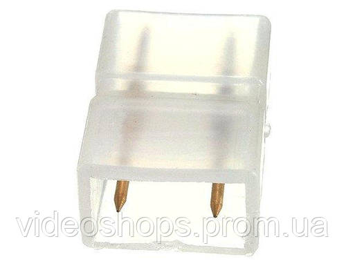 Коннектор ленты 220В  5730(разъём 2pin-разъём 2pin)