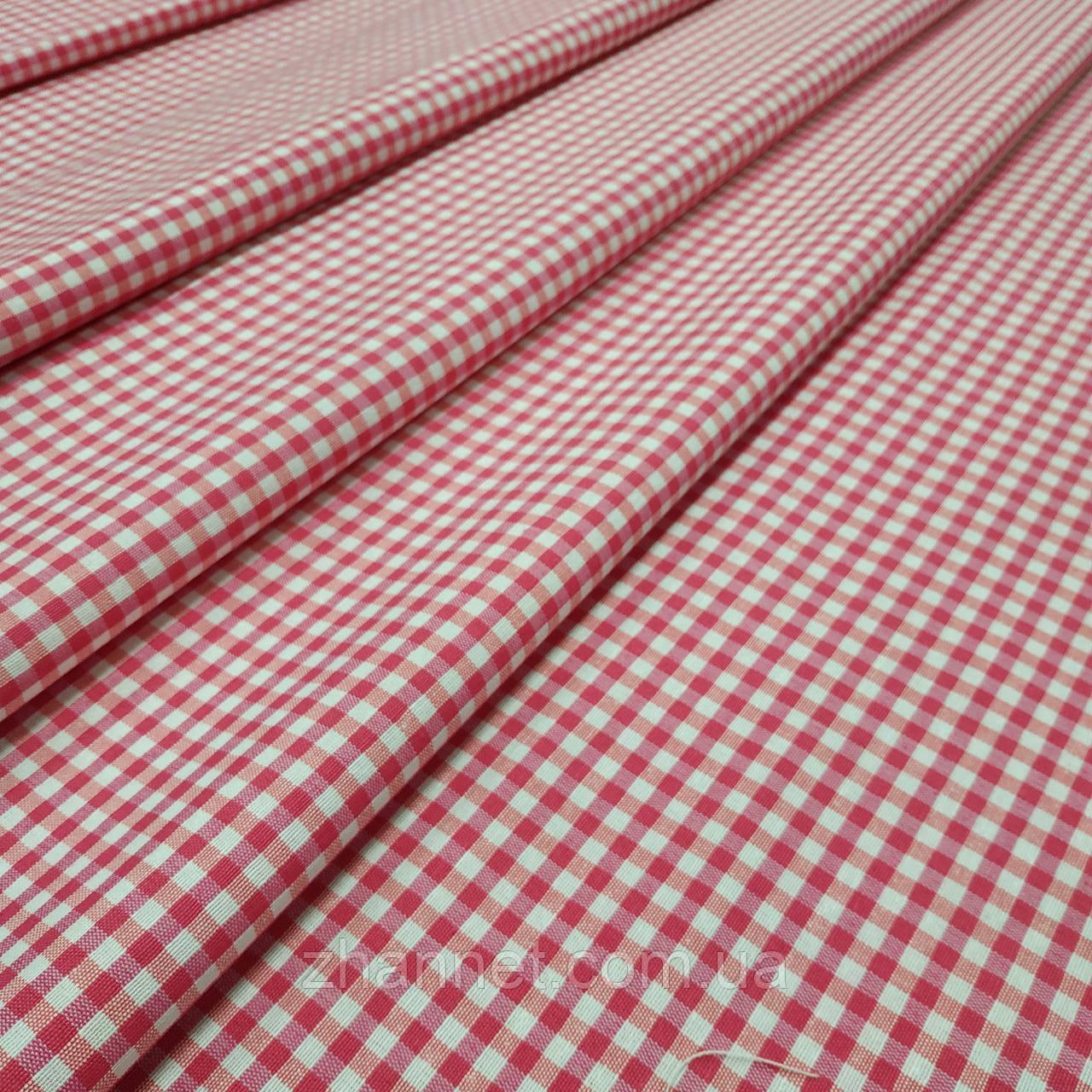 Ткань в клетку Ibiza розовый 280 см (836601)