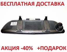 "D35 / K35 Зеркало заднего вида регистратор, 7"" сенсор Original 2 камеры, GPS навигатор, WiFi, 8Gb, Android, 3G"
