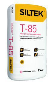 Клей для систем теплоізоляції SILTEK Т-85, 25кг