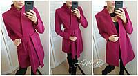 Стильное пальто женское из кашемира (цвета) СЕР191, фото 1