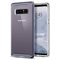 Чехол Spigen для Samsung Note 8 Neo Hybrid Crystal, Orchid Gray, фото 1