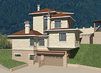 Архитектурное проектирование коттеджей. Проект жилого дома