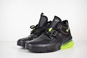 """Кроссовки Nike Air Force 270 """"Black Volt"""" (Черные), фото 2"""