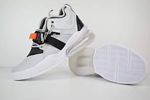 "Кроссовки Nike Air Force 270 ""White"" (Белые), фото 3"