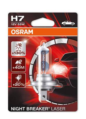 Osram  H7 12V 55W +130% 64210NBL-01B 1шт. , фото 2