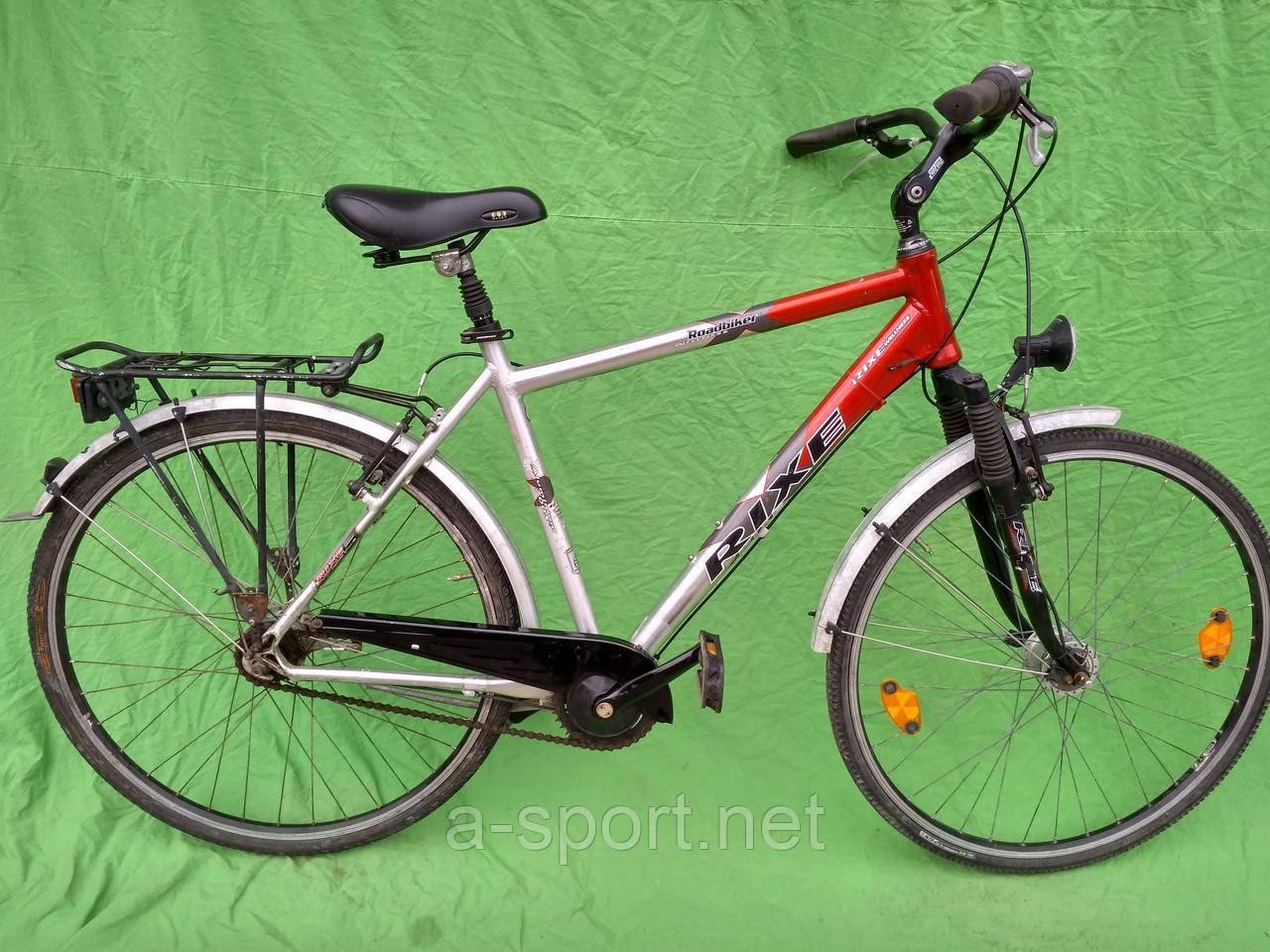 Міський, дорожній велосипед Rixe на планетарці nexus 7, алюміній, дина