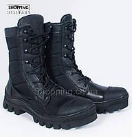 Берцы демисезонные черные тактические Miltecs Tactical Black