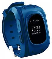 Детские часы-телефон с GPS WONLEX Q50 DarkBlue