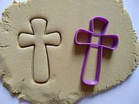 """3D формочки-вырубки для пряников """"Крест 2"""""""