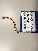 Внутрішній Акумулятор 5*52*67 (1800 mAh 7,4 V) 045270 AAA клас в Запоріжжі