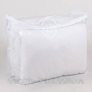 Сумка для упаковки текстиля, с верёвочными ручками, на молнии, прозрачная,  60*50*25 см
