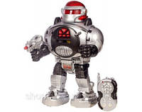 Робот интерактивный Космический Воин на р/у, стреляет дисками, ходит, свет
