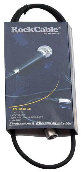 Микрофонный кабель ROCKCABLE RCL30301 D6