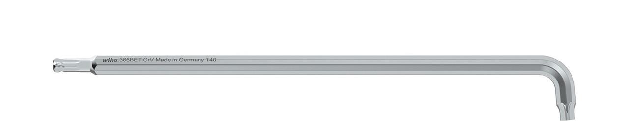 Штіфтовий ключ TORX зі сферичною головкою довгий T8 Titansilber
