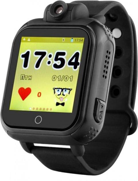 Часы Smart Baby Watch Q200 Black Гарантия 1 месяц