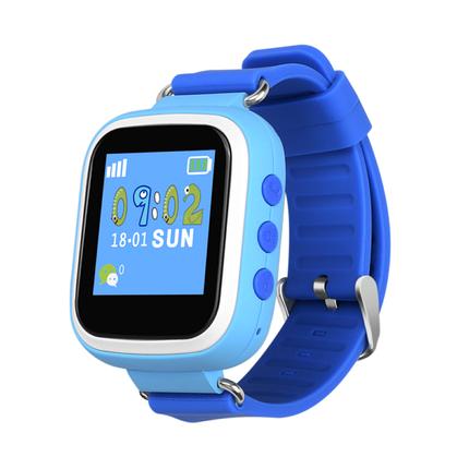 Часы Smart Baby Watch Q80 Blue Гарантия 1 месяц, фото 2