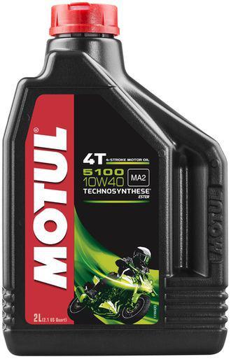 Моторное масло Motul 5100 4T 10W40 2L