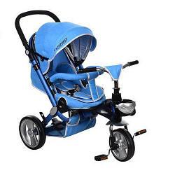 Трехколесный велосипед коляска Turbo Trike M AL3645-12 Blue