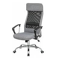 Кресло офисное Гилмор FXСН TILT из ткани серого цвета