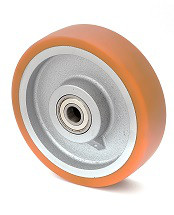 Колесо без кронштейна с шариковым подшипником 45-125х50-В