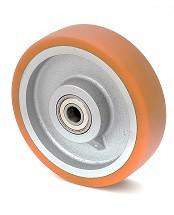 Колесо без кронштейна с шариковым подшипником 45-350х80-В