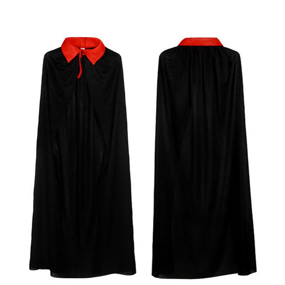 Черная накидка 120 см (костюм для Хэллоуина)