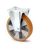 """Колесо поворотное в средне усиленном кронштейне """"Large"""" с крепежной панелью 4407-ELR-250-B"""