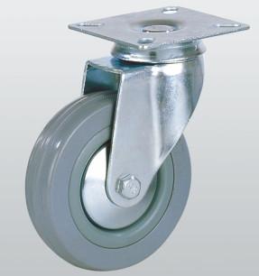 Колесо аппаратное поворотное с площадкой 3002-S-125-P