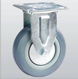 Колесо неповоротное с крепежной панелью 3007-S-050-P