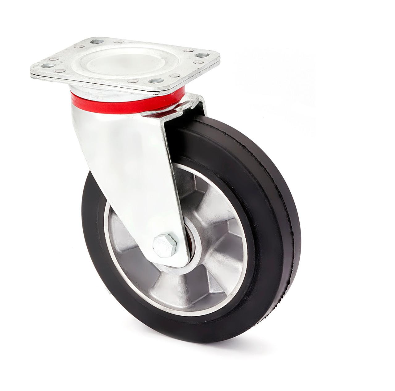 Колесо поворотное усиленное 1702-LR-080-B