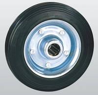 Колеса из черной резины с роликовым подшипником 10-160х40-R