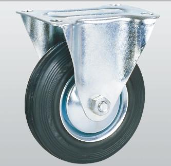 Колесо неповоротное с крепежной панелью 1007-E-100-R