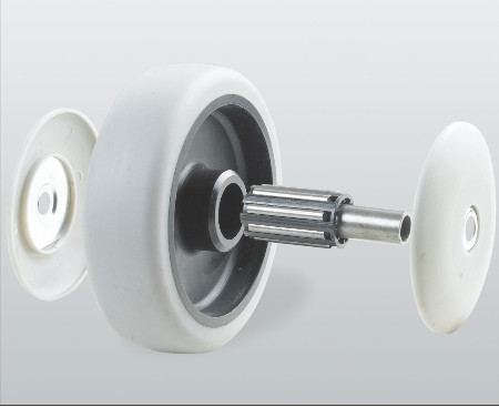 Колесо без кронштейна с роликовым подшипником 32-200х50-R