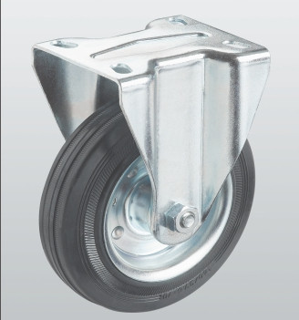 Колесо неповоротное с крепёжной панелью 1107-ST-250-R
