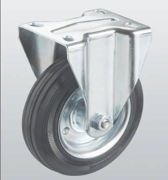 Колесо неповоротное с крепёжной панелью 1107-ST-200-R