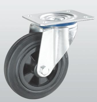 Колесо поворотное с крепежной панелью 1202-PF-200-P