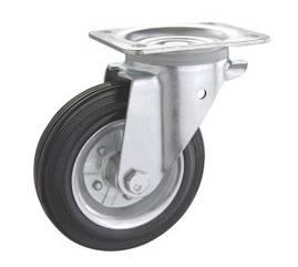 Колесо поворотное PROFI с крепёжной панелью 1402-PF-160-R