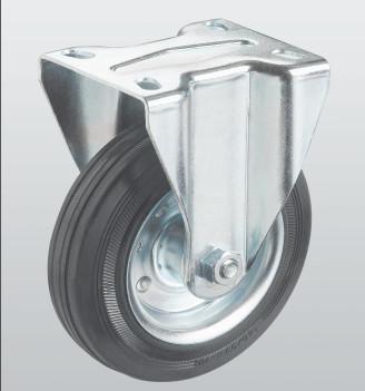 Колесо неповоротное PROFI с крепёжной панелью 1407-PF-200-R
