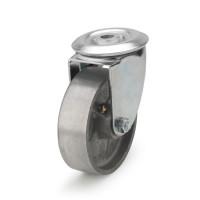Колесо поворотное термостойкое из алюминия с отверстием 5407-TR-080-R