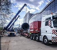 Перевозка промышленного оборудования с применением спецтехники