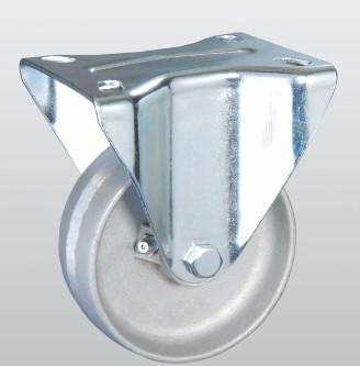 Колесо термостойкое из алюминия с неповоротной крепежной панелью 5405-TR-150-R