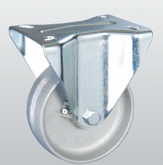 Колесо термостойкое из алюминия с неповоротной крепежной панелью 5405-TR-200-R