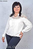 Нарядная блуза ПЛ3-810 (р. 44-56), фото 1