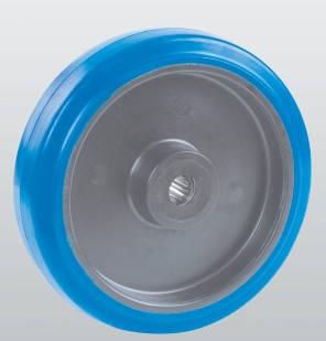 Колесо без кронштейна с роликовым подшипником 33-080х34-R