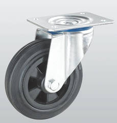 Колесо поворотное с крепежной панелью STANDART 1202-ST-160-P