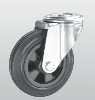 Колесо поворотное с отверстием STANDART 1205-ST-200-P