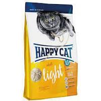 Сухой корм Happy Cat Supreme Light с птицей для котов и кошек 4 кг.